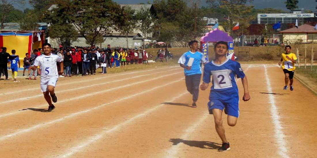 चौथो यूनिप्स खेलकुद महेत्सबमा एथलेटिक्सका खेलहरु जारी
