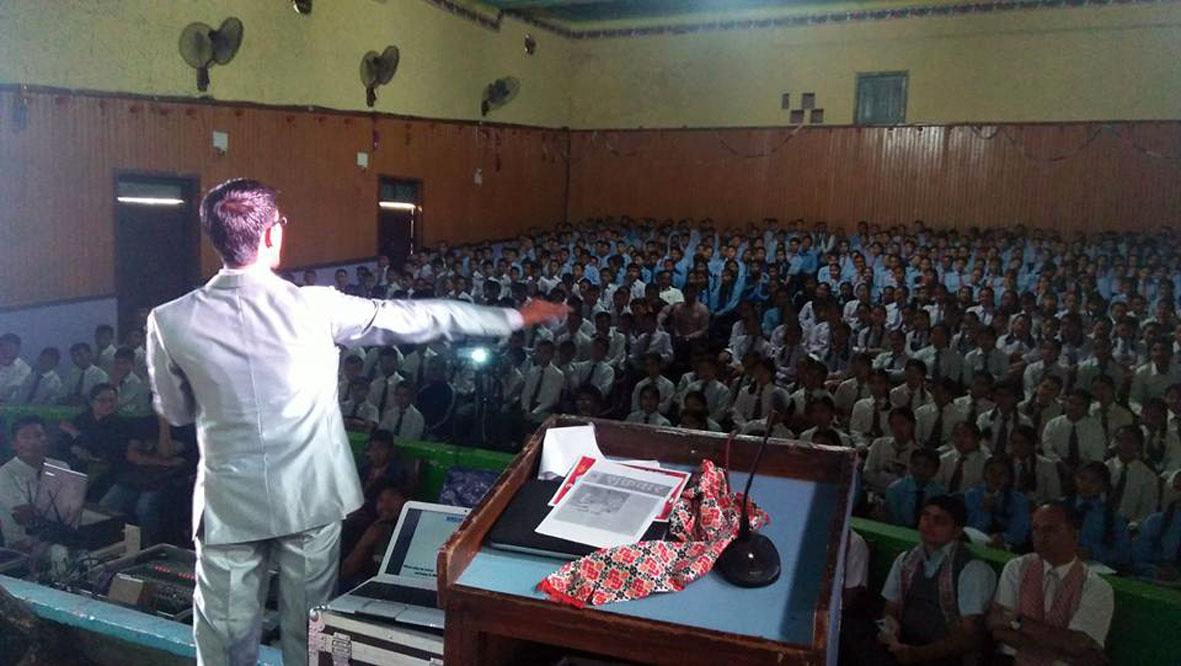 साभ नेपालले गर्यो विद्यार्थी मोटिभेसन सेमिनार